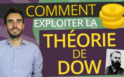 THÉORIE de DOW – Comment L'EXPLOITER dans votre TRADING