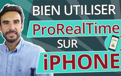 Comment bien utiliser ProRealTime sur iPhone, Android