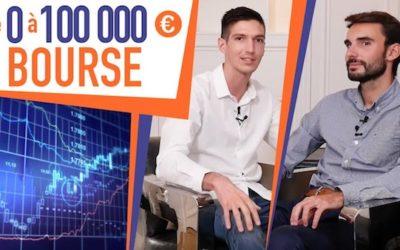 De 0 à 100 000 EUROS par AN avec la BOURSE !