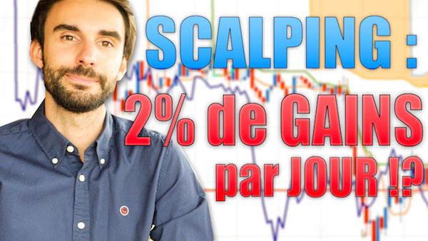 SCALPING : +2% de GAINS par JOUR !?