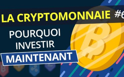 10 BONNES RAISONS d'INVESTIR dans les CRYPTOMONNAIES : Bitcoin, Litecoin, Eth… | Tuto Crypto #6