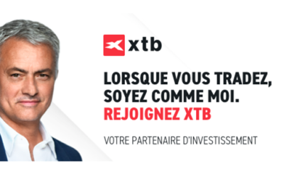 XTB  lance une offre Actions et ETF 0% commission et annonce son partenariat avec José Mourinho