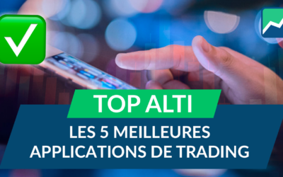 Les 5 MEILLEURES applications de TRADING !