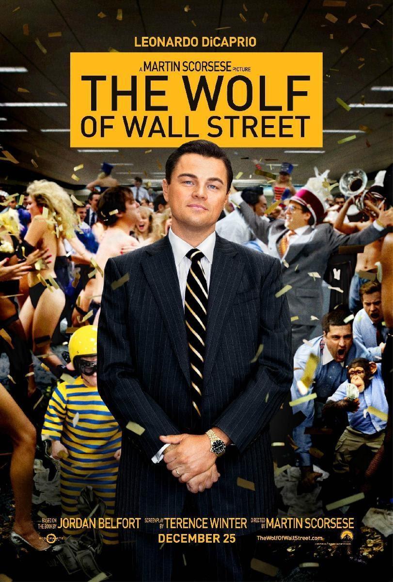 Affiche Loup de Wall Street