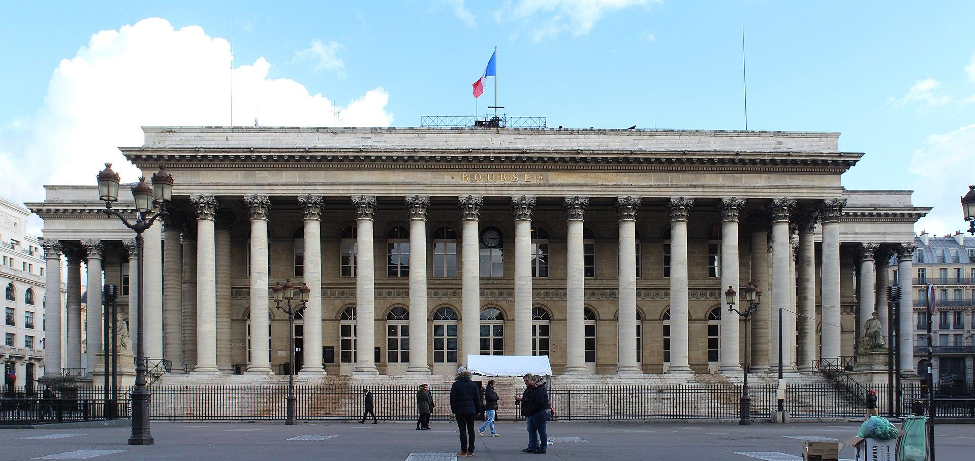 Bourse de Paris au Palais Brongniart