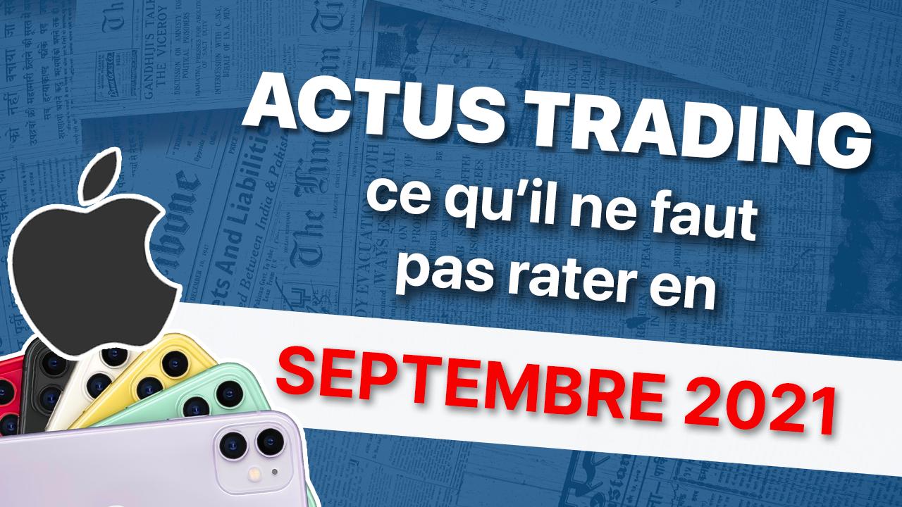 actu trading septembre
